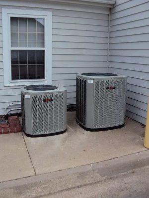 Two Residential HVAC Units